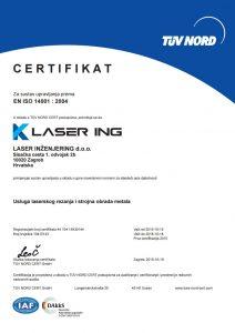 Laser Ing ISO 14001