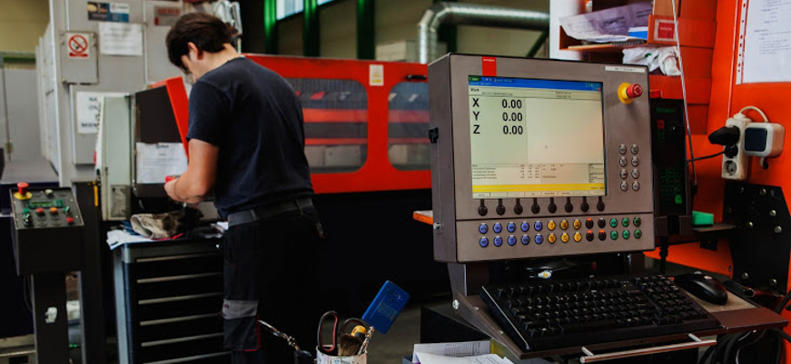 Priprema stroja za lasersko rezanje